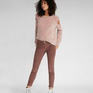 Express Plush Chenille Drop Shoulder Sweater S
